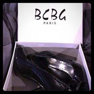 BCBG Paris Patent Leather Heels